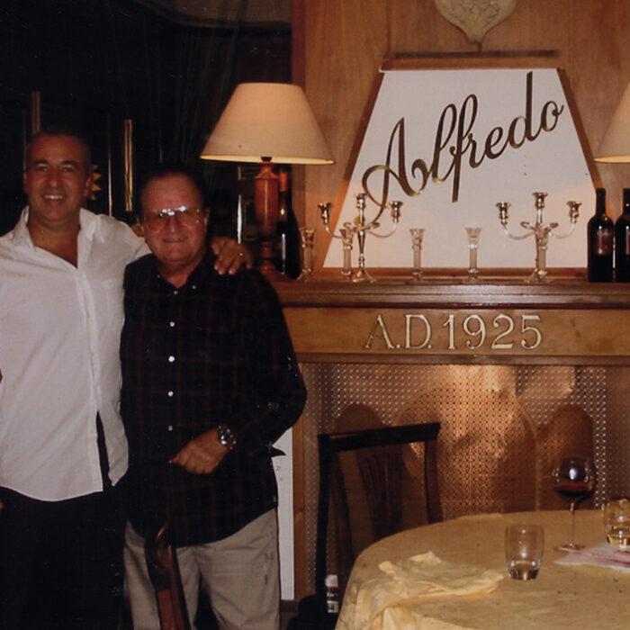 Jimmy Fontana con Mario Mozzetti